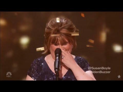 """ביצוע מרגש במיוחד של סוזן בויל לשיר """"סוסים פראיים"""""""