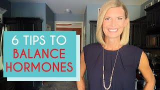 BALANCING HORMONES FOR WEIGHT LOSS (6 TIPS THAT WORK!)