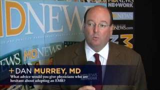 OrthoCarolina physicians talk with MD News
