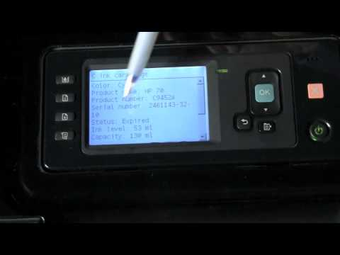 HP Designjet Z2100 Printer - Ink System Overview -  Part 2 of 2