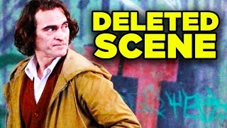 JOKER Deleted Scene Revealed! Alternate Villain Explained!