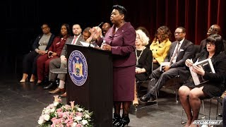 Inauguration of Bronx County District Attorney Darcel D. Clark