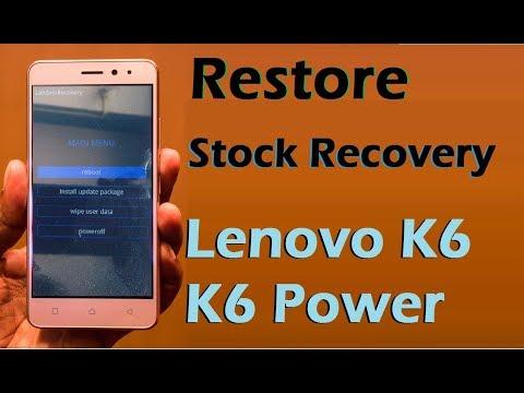 Lenovo k6 Power Nougat to Marshmallow Downgrade  Part 1