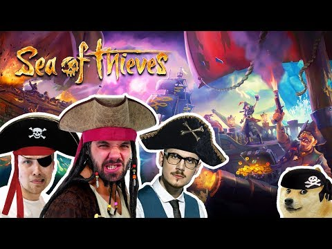 SEA OF THIEVES! | Pedro, Gogo, Jirka a Gejmr