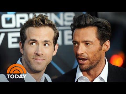 Ryan Reynolds Talks About 'Rivalry' With Hugh Jackman | TODAY (видео)