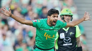 Pakistani quick Haris Rauf made it two hat-tricks in the KFC BBL in one day, taking three wickets in three balls for the Melbourne Stars against the Sydney Thunder after Rahid Khan had taken a hat-trick for the Adelaide Strikers