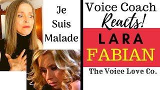 Voice Coach Reacts | Lara Fabian | Je Suis Malade |