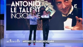 Antonio le magicien bluffe Sophie Thalmann #AcTualiTy