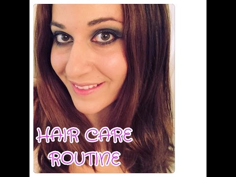 HAIR CARE ROUTINE!