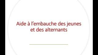 Replay Réunion actualité mai 2021 – Les aides à l'embauche des jeunes et des alternants