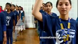 Students from Trivandrum Nish institute sings National anthem in sign language