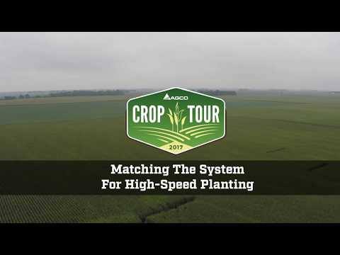 Matching the System for High-Speed Planting