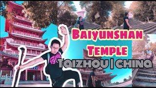 preview picture of video 'Baiyunshan Temple | Baeyun Mountain Hiking ,  Taizhou China'