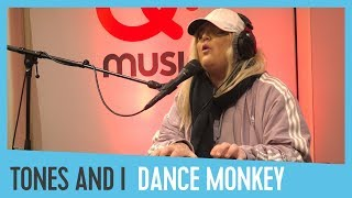 Tones And I   'Dance Monkey' (live & Akoestisch Bij Domien)  Qmusic