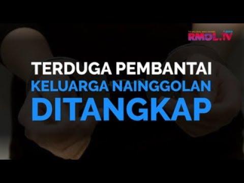 Terduga Pembantai Keluarga Nainggolan Ditangkap