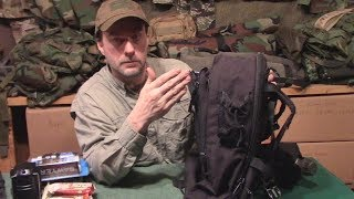 Realistic 72 Hour Emergency Bug Out Bag #survival