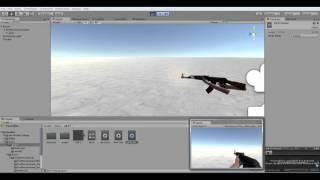 Unity3D  AK47 Model Animation