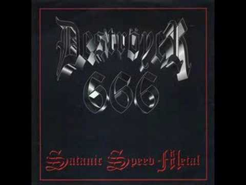 Destroyer 666 - Satanic Speed Metal online metal music video by DESTRÖYER 666