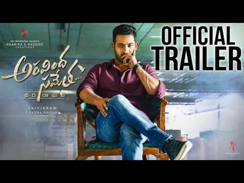 Aravindha sametha movie official hindi trailer || jr NTR NEW SOUTH MOVIE OFFICIAL HINDI TRAILER