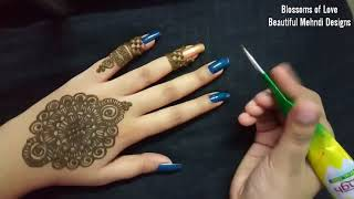 ज्वेलरी मेहँदी Eid Special || Jewellery Mehndi Design 2018 || How to apply jewellery mehndi design