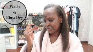 WEEKLY VLOG #9 | HOW I WASH MY HAIR FROM HOME | Nelly Mwangi