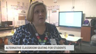 Alternative seating in the classroom may help students focus better