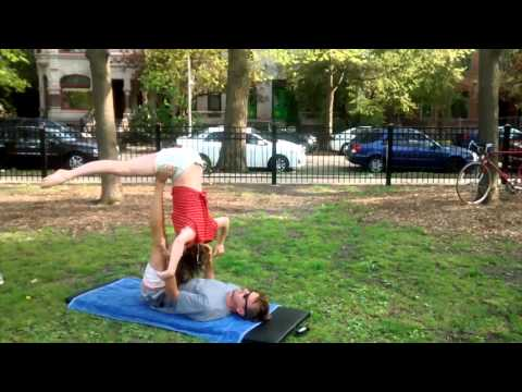 Acro Yoga warm-up video of Brian Greenwald and I; originally made (May '16) to invite a good friend to come do acro with us in Wicker Park.
