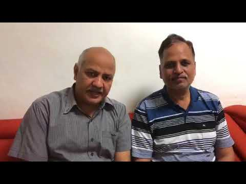 Dy CM Manish Sisodia Suspiciously says LG wil try to take us Forcefully