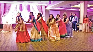 BEST INDIAN WEDDING RECEPTION DANCE/SKIT PERFORMANCE | Bollywood Wedding |By Bride & Grooms Friends