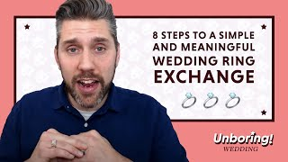 How to Exchange Wedding Rings in the Ceremony