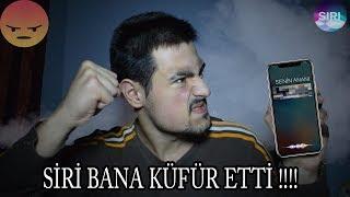 SİRİ BANA KÜFÜR ETTİ !! (SİRİYİ ÇILDIRTTIM !!)