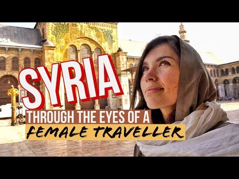 SYRIA | What's It Like to be a Tourist in Damascus in 2019?