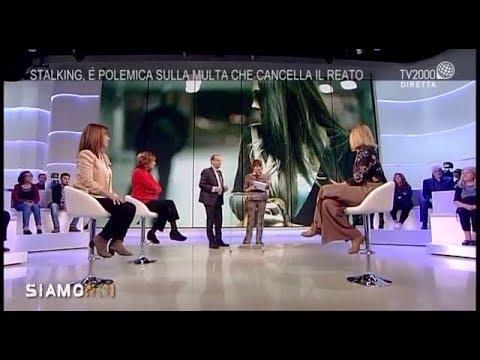 La depenalizzazione dello stalking: l'avv. Licia D'Amico ospite di TV2000