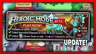 NEW AIR/EARTH HEROIC MODE BETA!! CHONOS REGALIA+ HEROIC MODE SHADOWFORGED ARMOR!