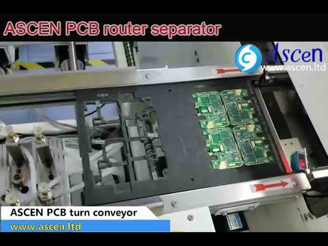 PCB turn conveyor, PCB turning conveyor,90°Turn Conveyor