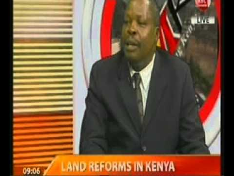Insight on Land Reforms in Kenya – Interview With Mr Odenda Lumumba