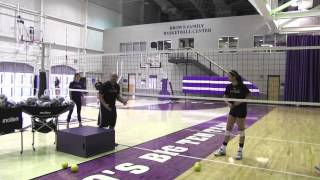 AVCA Video Tip of the Week - Middle Blocking & Tracking the Ball