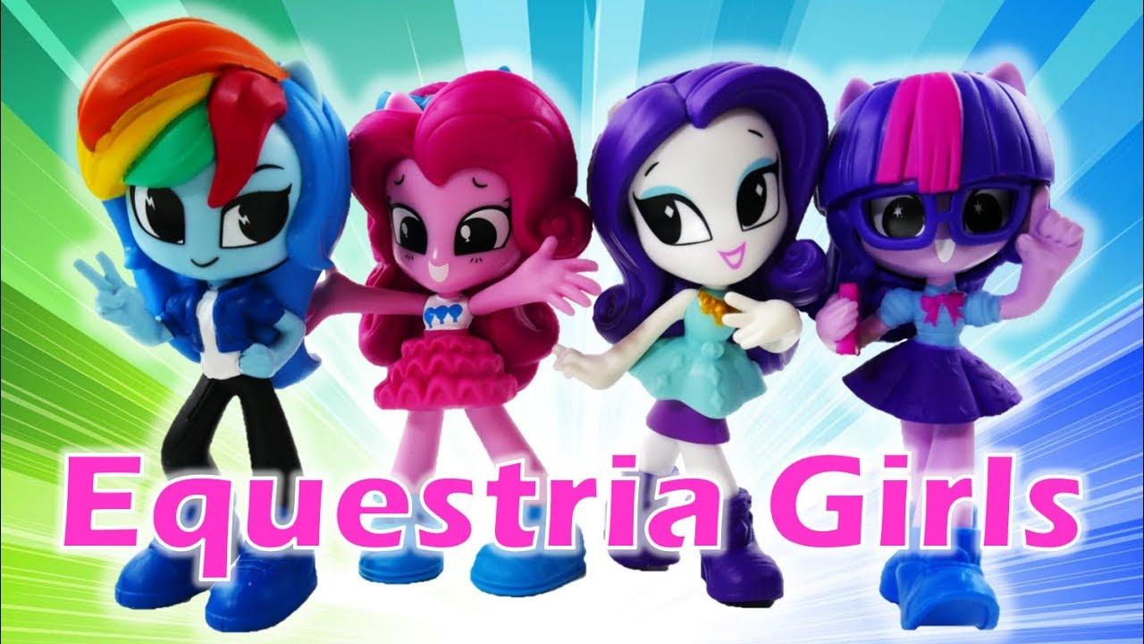 NEW My Little Pony Equestria Girls Minis Doll Vinyl Figures