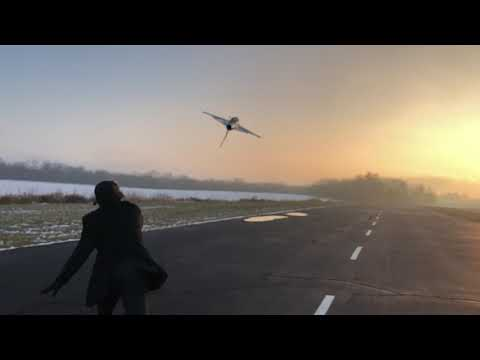 eflite-f16-inverted-launch-video