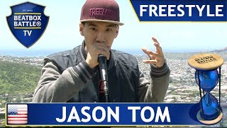 Jason Tom from Hawaii - Freestyle - Beatbox Battle TV