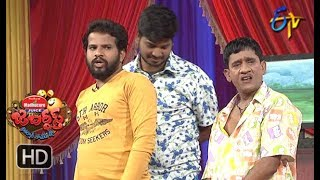 Hyper Aadi, Raising Raju Performance | Jabardasth | 12th April 2018   | ETV  Telugu
