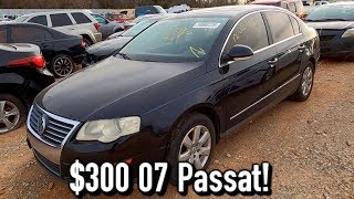 Copart Walk Around 12-7-19 + $300 2007 VW Passat