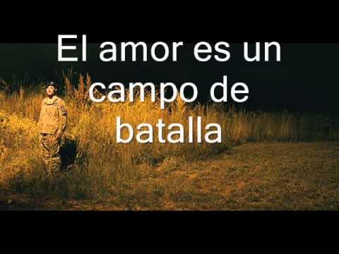 love is a battlefield - pat benatar ESPAÑOL