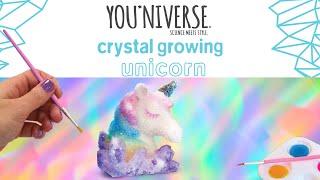 YOU*niverse Crystal Growing Unicorn