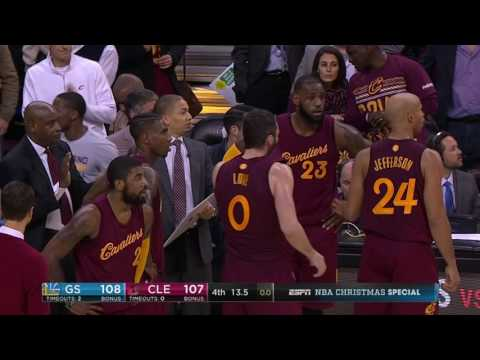 Golden State Warriors at Cleveland Cavaliers - December 25, 2016