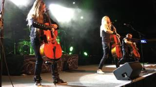 Apocalyptica live House of Chains/cello solo/Master Of Puppets in the starland Ballroom 4/23/16