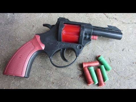 Mini Flare Pistol Review + Shooting Mp3