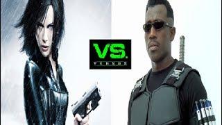 Selene (Underworld) VS Blade (Wesley Snipes) - Vampire Battle [Forum Battle #20]