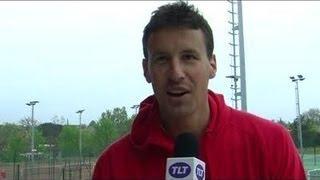 Kenny de Schepper à Roland Garros (Toulouse)