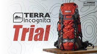 Terra Incognita Trial 75 / красный/серый - відео 1